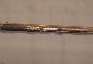 An 18thC French Flintlock Fowling Piece Antique Guns
