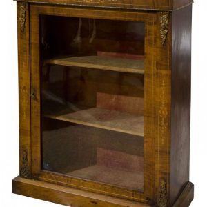 An ormolu mounted and inlaid walnut pier cabinet Antique Cabinets