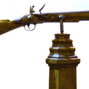 Flintlock duelling pistol by William Wallis c1800 Antique Guns
