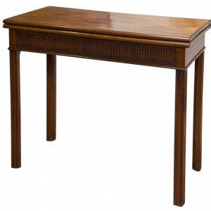 Early George III mahogany card table Antique Tables