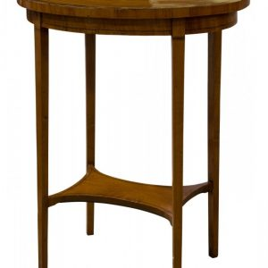 Edwardian Sheraton revival oval table Antique Tables