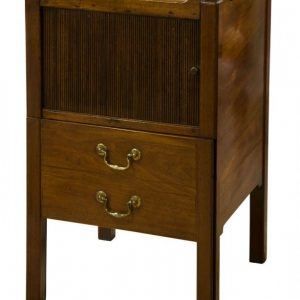 Georgian mahogany commode with a drawer Antique Chest Of Drawers