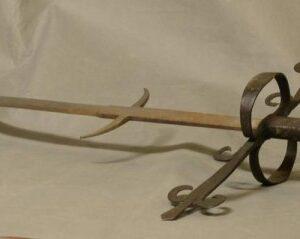 German 17th Century Style Bearing Sword Antique Swords