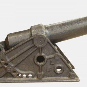 Iron Barrelled Line Throwing Gun Antique Guns