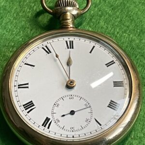 Star Pocket Watch with Vertex works Gold Plated Antique Watches