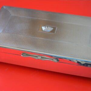 SALE – A Rare JOHN N LUNN Ltd (IRISH) E. P. N. S. Cigarette – Card – Jewellery Box Silver Box Antique Silver
