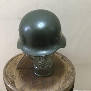 2WW GERMAN SOLDIERS HELMET Antique Collectibles