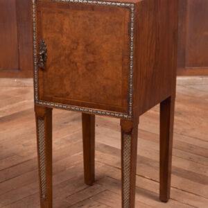 Walnut Bedside Cabinet / Pot Cupboard Price SAI2365 Antique Cupboards