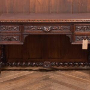 Oak Carved Writing Desk SAI2378 Antique Desks
