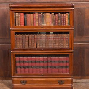 Globe Wernicke 3 Sectional Bookcase SAI2381 Antique Bookcases