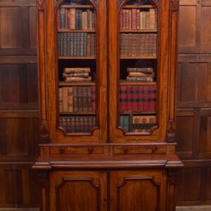 Victorian Mahogany Bookcase SAI2391 Antique Bookcases