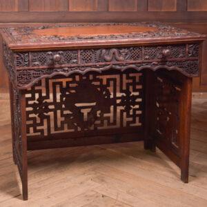 Chinese Hardwood Carved Folding Desk SAI2390 Antique Desks