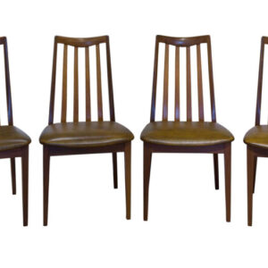 A set of 4 G-Plan Teak dining chairs Antique Chairs