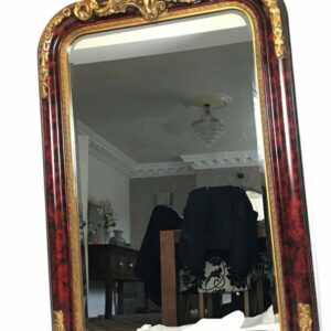 Large Beautiful French Cherub Pier Wall Mirror bevelled Antique Mirrors