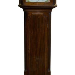 Mahogany 8 Day Scottish Longcase Clock Antique Clocks
