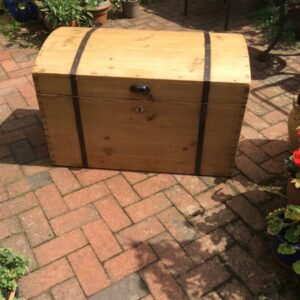 Domed Trunk Antique Chests 2