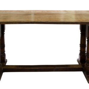 A 17thC style oak refectory table refectory table Antique Tables
