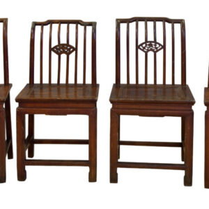 Four Chinese single chairs dining chairs Antique Chairs
