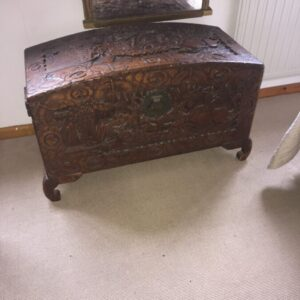 Oriental Carved Chest Antique Chests