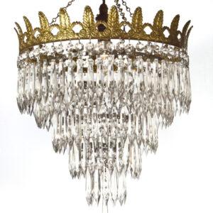 4 Tier icicle Chandelier chandelier Antique Lighting 2