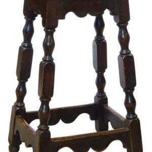 Late Georgian pine Clerks High Stool Georgian Antique Chairs