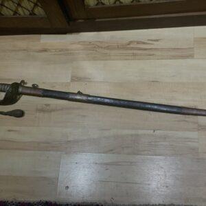 Royal Navy Officers Sword Victorian Antique Swords