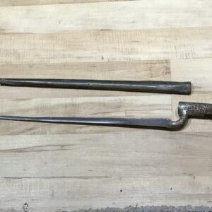 Brown Bess bayonet and scabbard Antique Guns, Swords & Knives