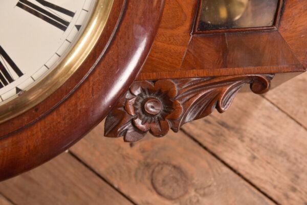 Mahogany Wall Clock SAI2419 Antique Clocks 13