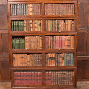 Oak 5 Sectional Bookcase SAI2417 Antique Bookcases