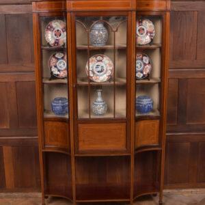 Edwardian Display Cabinet SAI2405 Antique Cabinets