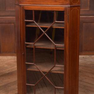 Edwardian Mahogany Corner Cabinet SAI2401 Antique Cupboards