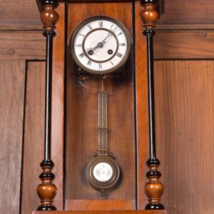 German Walnut Wall Clock SAI2421 Antique Clocks