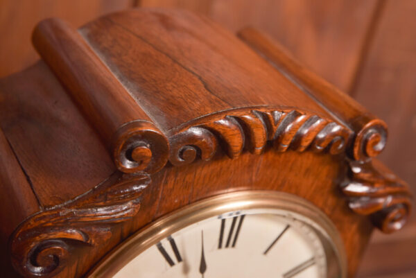Victorian Rosewood Bracket Clock W & J Gardner Perth SAI2424 Antique Clocks 10