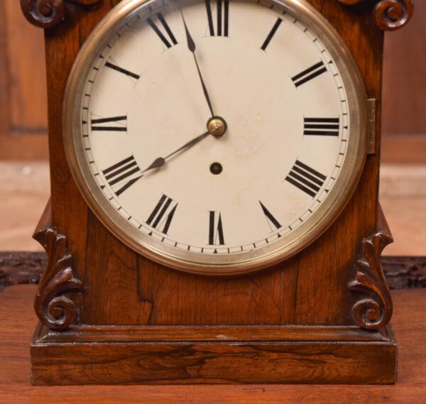 Victorian Rosewood Bracket Clock W & J Gardner Perth SAI2424 Antique Clocks 9