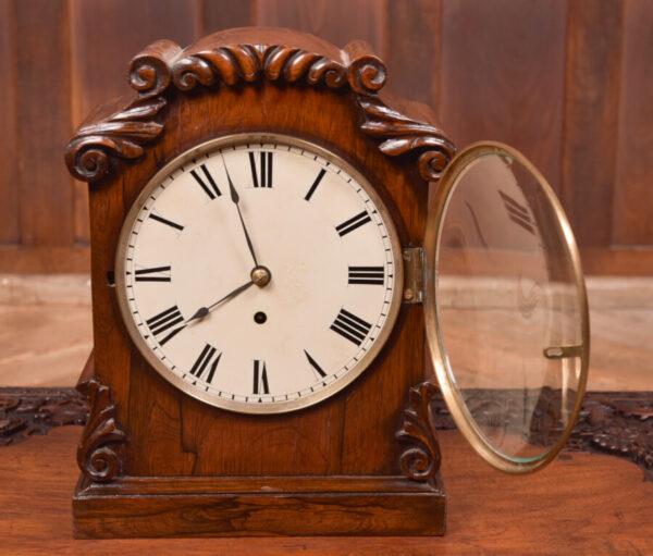 Victorian Rosewood Bracket Clock W & J Gardner Perth SAI2424 Antique Clocks 7