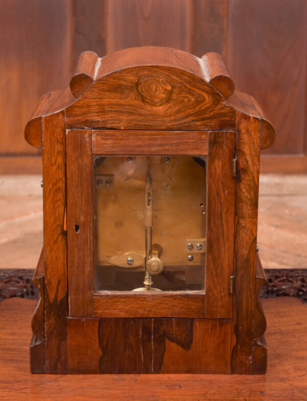 Victorian Rosewood Bracket Clock W & J Gardner Perth SAI2424 Antique Clocks 5