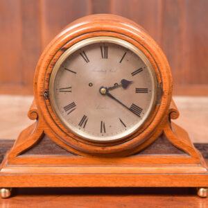 Oak Mantle Clock Thwaites & Reed Of London SAI2425 Antique Clocks