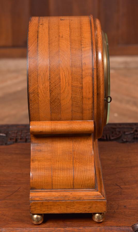 Oak Mantle Clock Thwaites & Reed Of London SAI2425 Antique Clocks 11