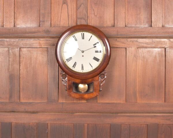 Mahogany Wall Clock SAI2419 Antique Clocks 7