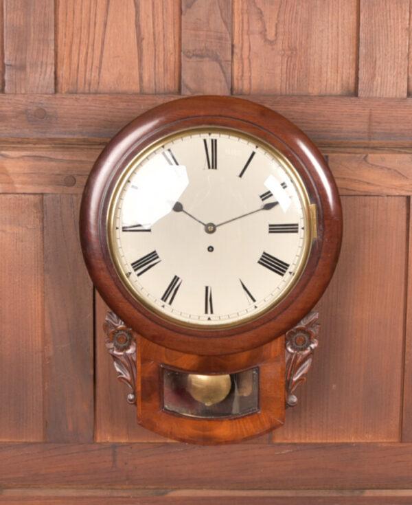 Mahogany Wall Clock SAI2419 Antique Clocks 6