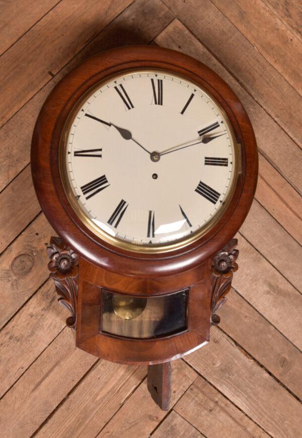 Mahogany Wall Clock SAI2419 Antique Clocks 3