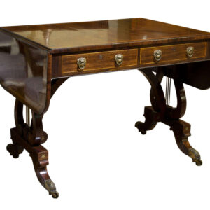 Fine Regency Rosewood Sofa Table antique table Antique Tables