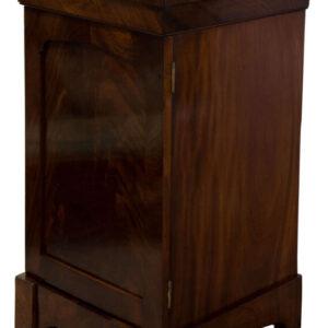 William IV Flame mahogany Wine Cupboard Dining Room Antique Furniture