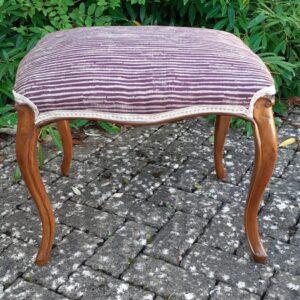 Victorian walnut stool circa 1860 Victorian Antique Stools