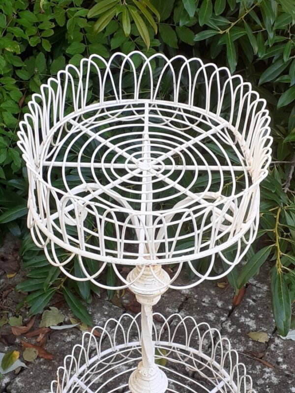 Early 19th century wirework plant stand plant stand Miscellaneous 7