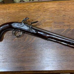 Flint lock pistol by Eames of Dublin Antique Guns