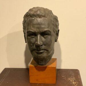 Sculpture of Man Antique Art