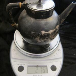 1880 London Silver W&J Barnard Teapot 275grms silver, teapot, antique, Victorian, London Antique Silver