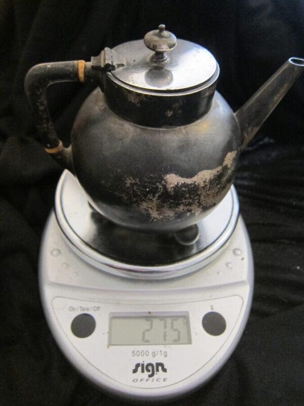1880 London Silver W&J Barnard Teapot 275grms silver, teapot, antique, Victorian, London Antique Silver 2