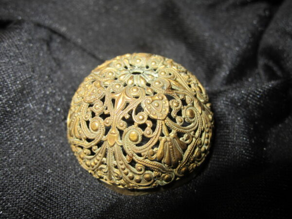 19th Century Oriental Gilt Bronze Elephant Incense Burner Antique Metals 6